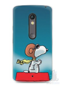 Capa Capinha Moto X Play Snoopy #13