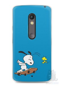 Capa Capinha Moto X Play Snoopy #25