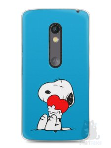 Capa Capinha Moto X Play Snoopy #26