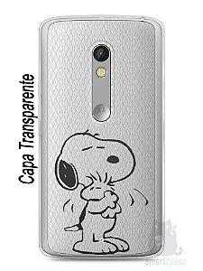 Capa Capinha Moto X Play Snoopy #27