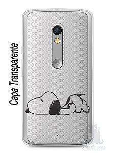 Capa Capinha Moto X Play Snoopy #29