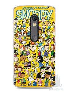 Capa Capinha Moto X Play Snoopy #33
