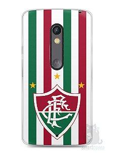 Capa Capinha Moto X Play Time Fluminense