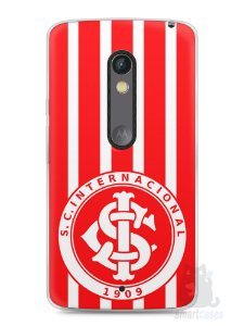 Capa Capinha Moto X Play Time Internacional