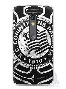 Capa Capinha Moto X Play Time Corinthians #3