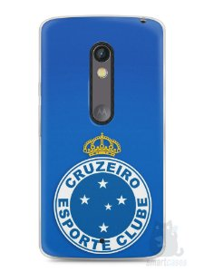 Capa Capinha Moto X Play Time Cruzeiro #1