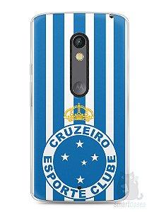 Capa Capinha Moto X Play Time Cruzeiro #2