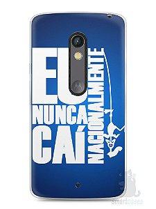 Capa Capinha Moto X Play Time Cruzeiro #4