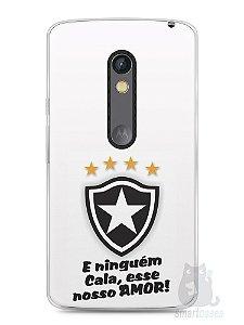 Capa Capinha Moto X Play Time Botafogo #2