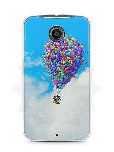 Capa Capinha Moto X2 Balões