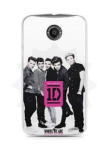 Capa Capinha Moto X2 One Direction #2