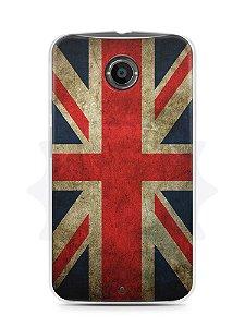 Capa Capinha Moto X2 Bandeira da Inglaterra