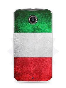 Capa Capinha Moto X2 Bandeira da Itália