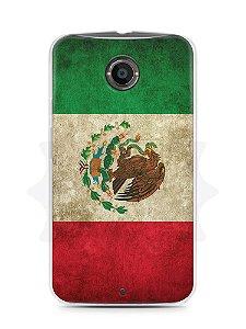 Capa Capinha Motorola Moto X2 Bandeira do México