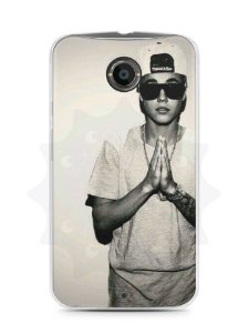Capa Capinha Moto X2 Justin Bieber #1