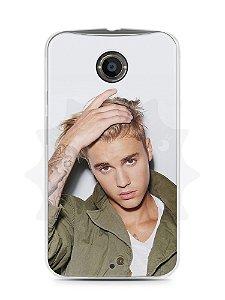 Capa Capinha Moto X2 Justin Bieber #3