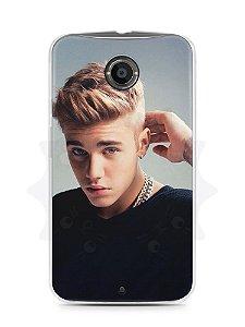 Capa Capinha Moto X2 Justin Bieber #4