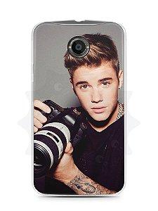 Capa Capinha Moto X2 Justin Bieber #6