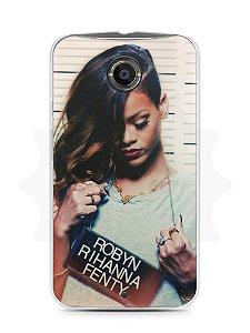 Capa Capinha Moto X2 Rihanna #2