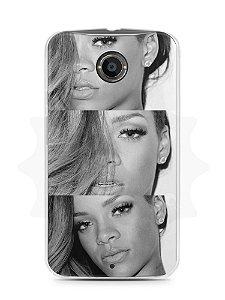 Capa Capinha Moto X2 Rihanna #4