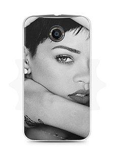 Capa Capinha Moto X2 Rihanna #5
