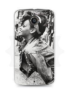 Capa Capinha Moto X2 Rihanna #6