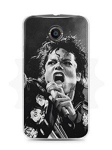 Capa Capinha Moto X2 Michael Jackson #3