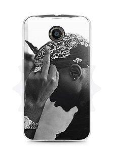 Capa Capinha Moto X2 Tupac Shakur #2