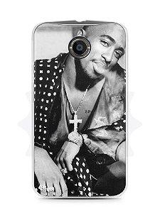 Capa Capinha Moto X2 Tupac Shakur #3