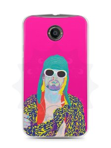 Capa Capinha Moto X2 Kurt Cobain #6