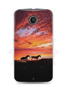 Capa Capinha Moto X2 Cavalos #1
