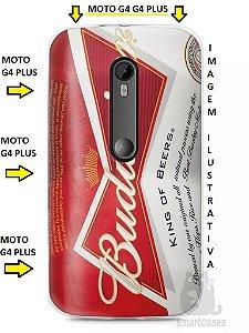 Capa Capinha Moto G4 G4 Plus Cerveja Budweiser