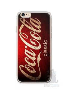 Kit com 2 Capinhas Iphone 6 Plus Coca-Cola Classic