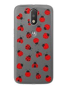 Capa Capinha Celular Motorola Moto G4 G4 Plus Joaninhas #1