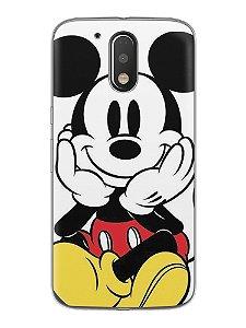 Capa Capinha Celular Motorola Moto G4 G4 Plus Mickey Mouse #2