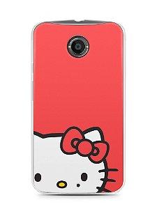 Capa Capinha Moto X2 Hello Kitty