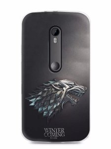 Capa Capinha Motorola Moto G3 Game Of Thrones Stark