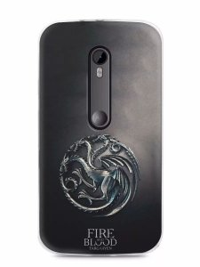 Capa Capinha Motorola Moto G3 Game Of Thrones Targaryen