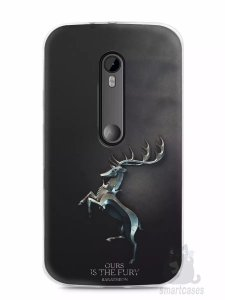Capa Capinha Motorola Moto G3 Game Of Thrones Baratheon