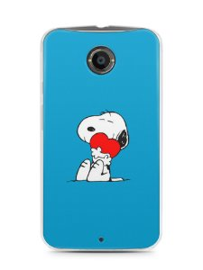 Capa Capinha Motorola Moto X2 Snoopy #10