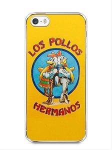 Kit com 2 Capinhas Iphone 5 5s Los Pollos Hermanos e Targaryen