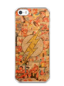 Capa Iphone 5/S The Flash Comic Books #2