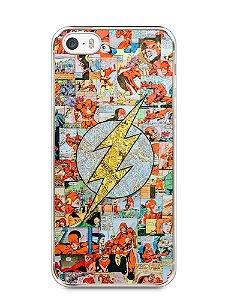 Capa Iphone 5/S The Flash Comic Books #3