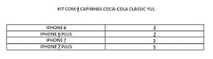 Kit Com 10 Capinha Coca-Cola Classic