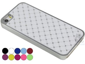 Capa Iphone 5/S Strass Luxo
