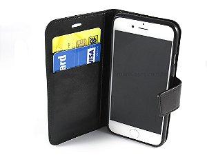 Capa Iphone 6 Carteira Couro