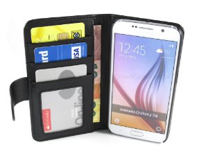Capa Samsung S6 Carteira Couro