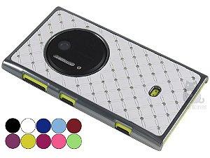 Capa Lumia 1020 Strass Luxo