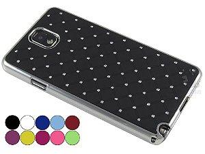 Capa Samsung Note 3 Strass Luxo