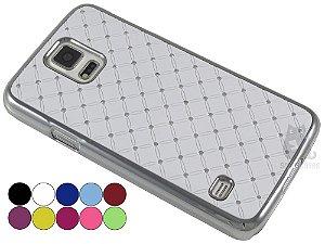 Capa Samsung S5 Strass Luxo